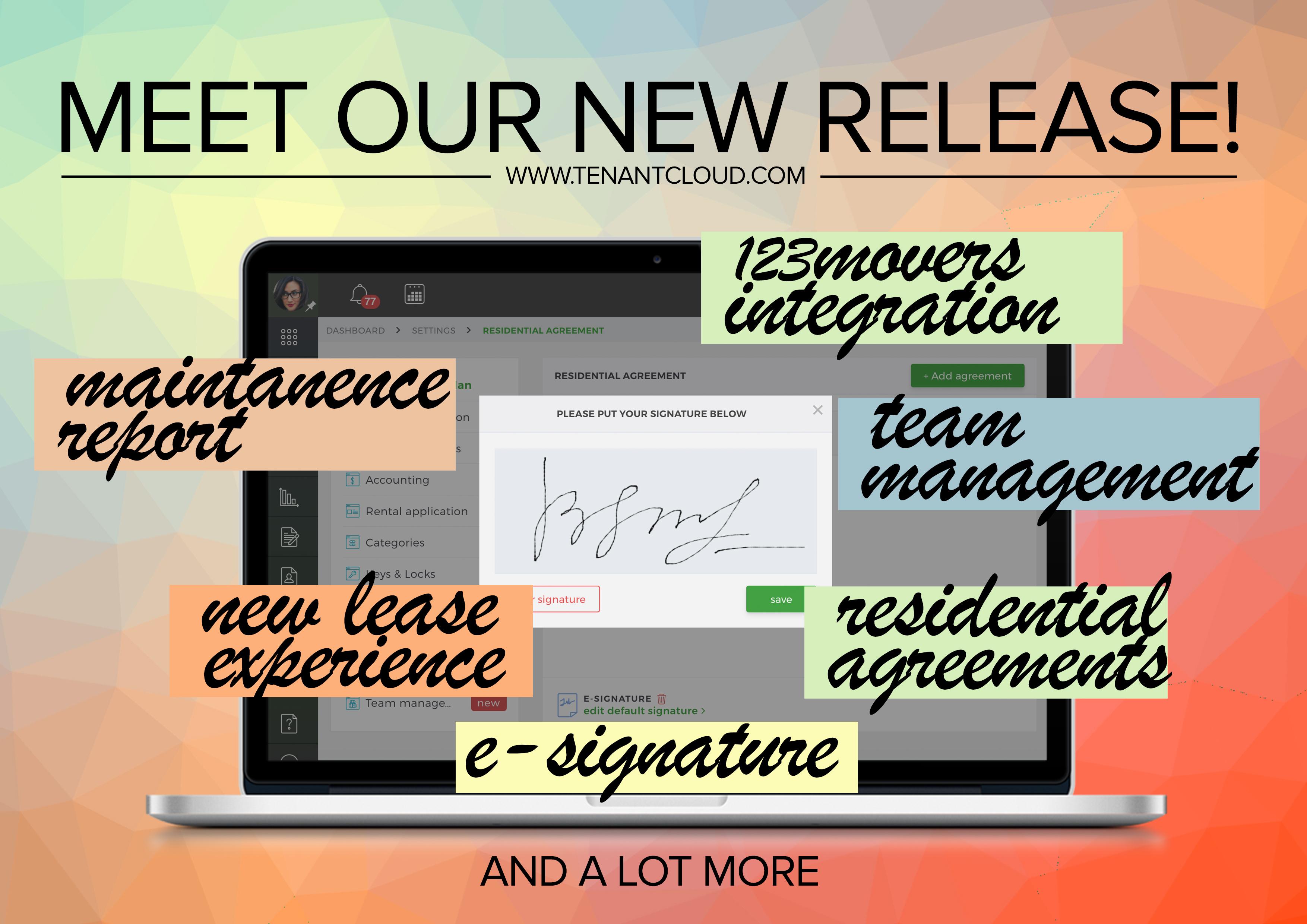 TenantCloud New Features