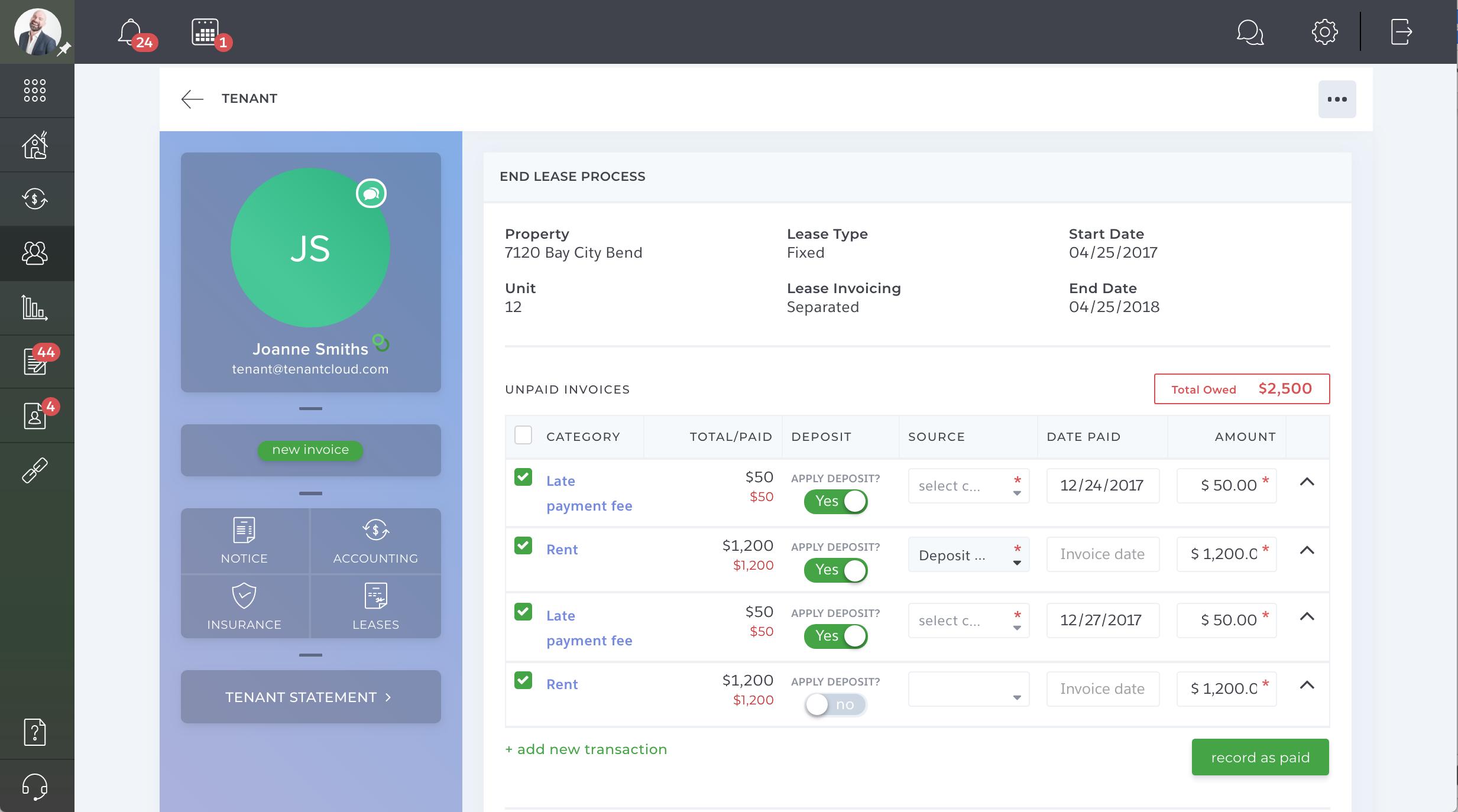 TenantCloud Accounting